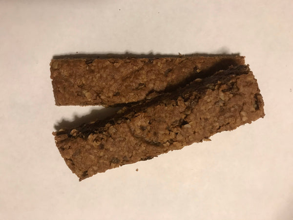 Double Chocolate Chocolate Chip granola bar