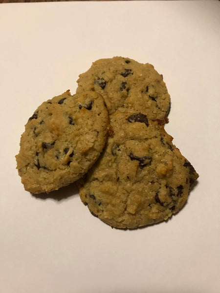 Keto Coconut Chocolate Chip Cookies