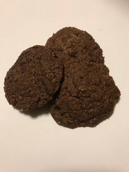 Keto Double Chocolate Coconut Cookies