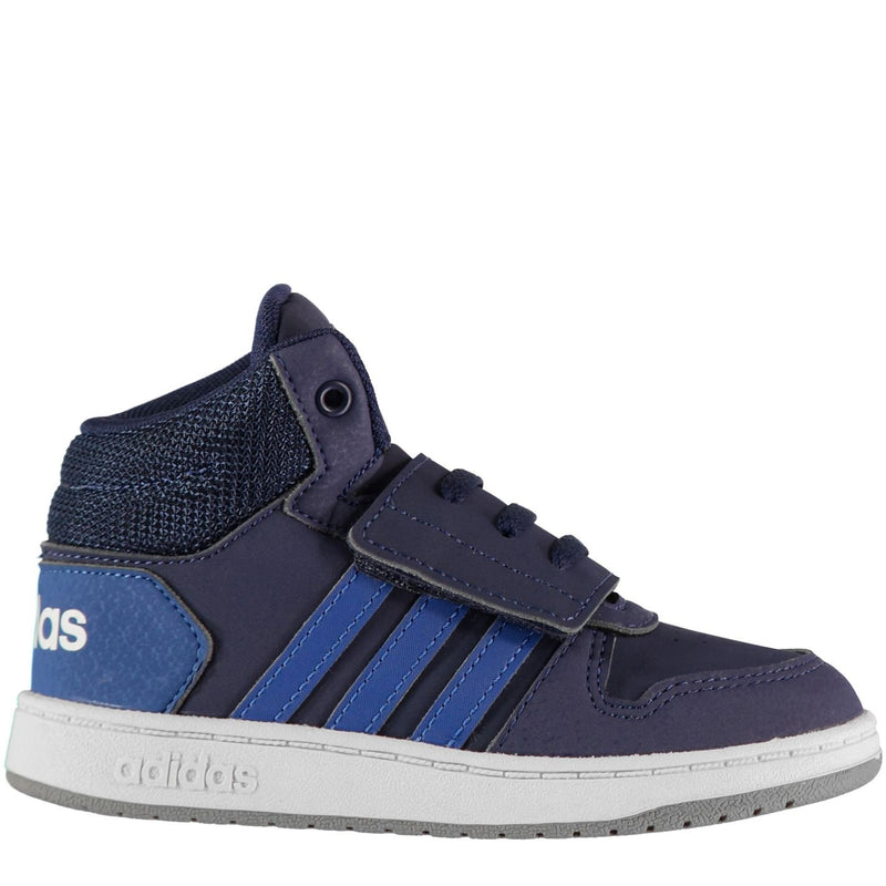 adidas - Hoops High Top Trainers Infant Boys