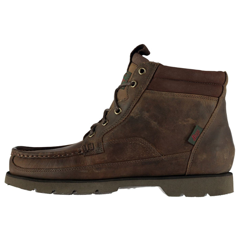Bass Weejuns - Stockton Moc Leather Boots Mens