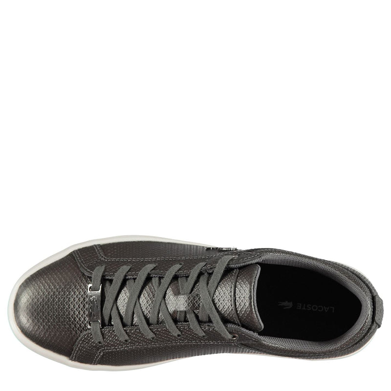 Lacoste - Straightset Chantaco Leather Trainers