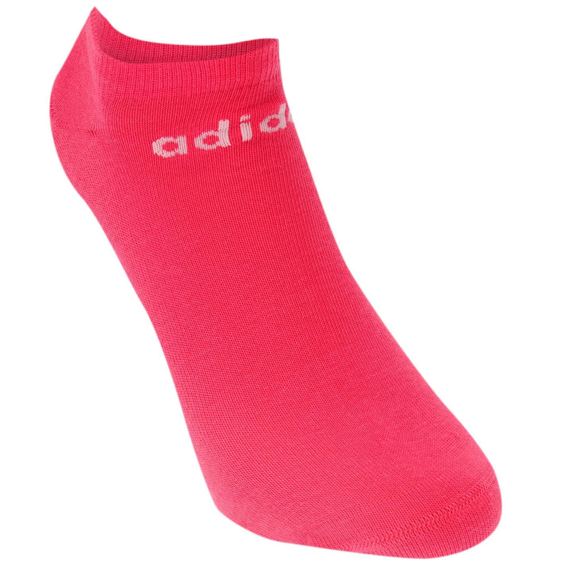 adidas - NoShow Three Pack Socks Junior
