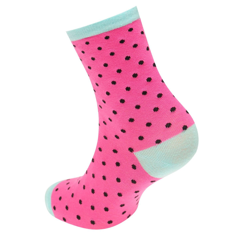 Miso - 3 Pack Patterned Design Socks Ladies
