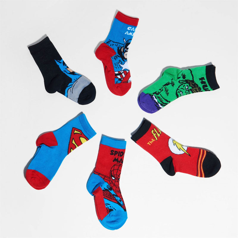Marvel - 3 Pack Crew Socks Infants