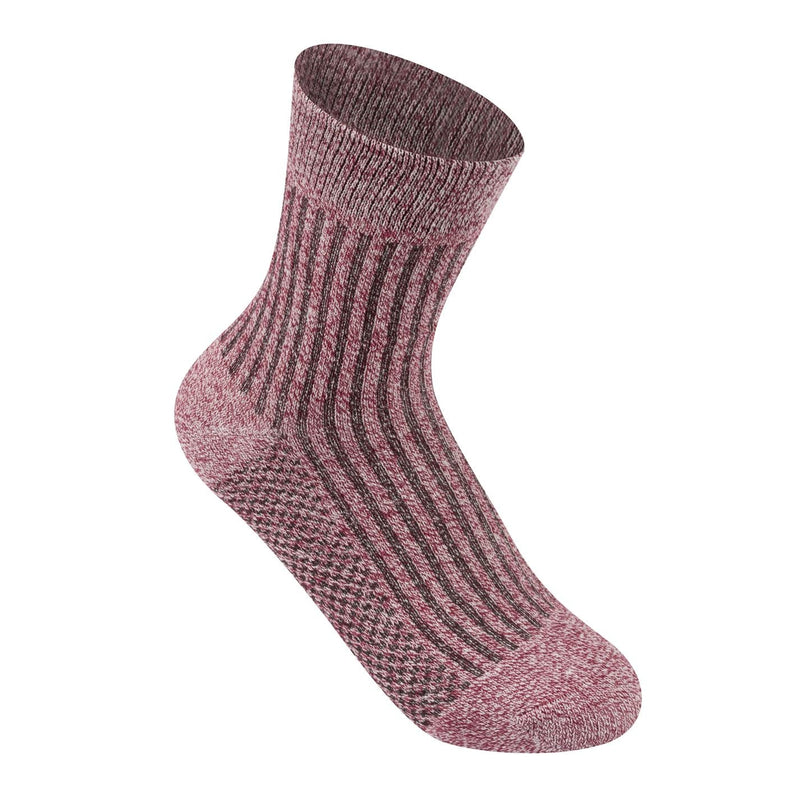 Lee Cooper - 3 Pack Rib Crew Socks Ladies