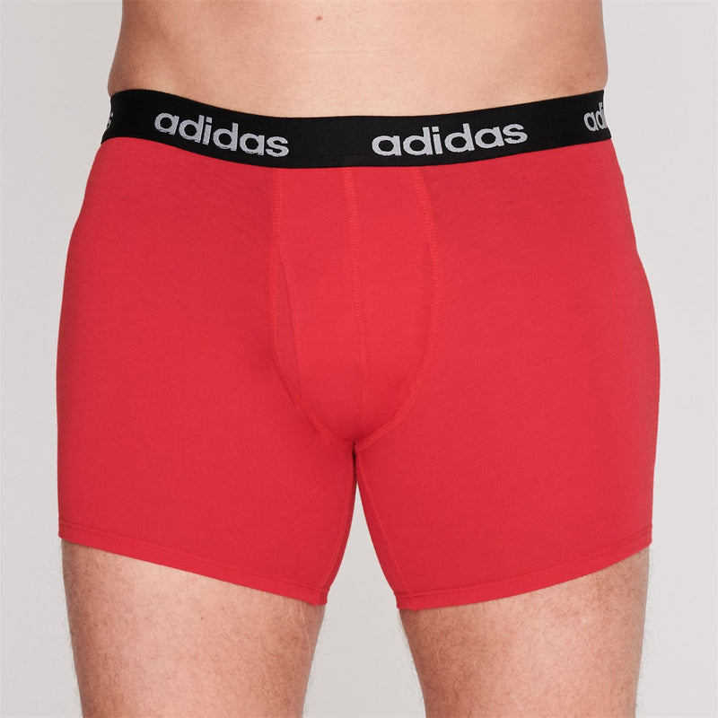 adidas - 3 Pack Performance Boxer Shorts Mens