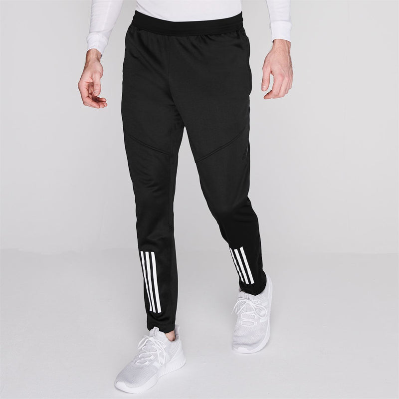 adidas - 3 Stripe Tracksuit Bottoms Mens