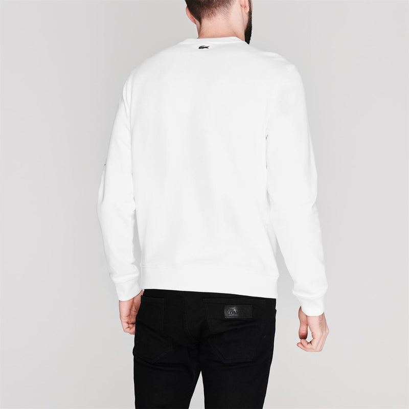Lacoste - Text Crew Sweater