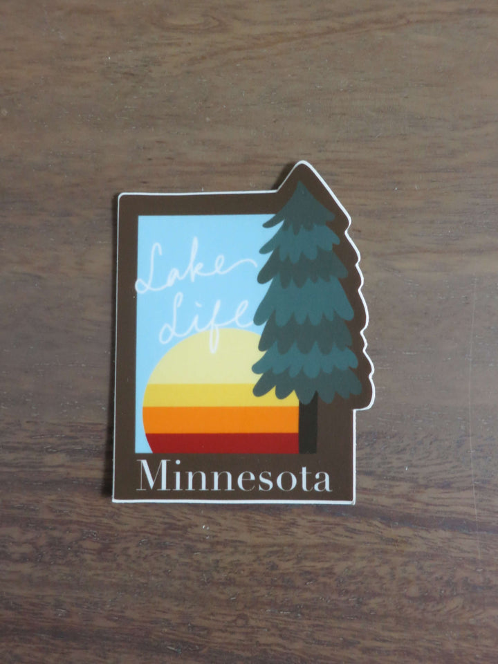 Lake Life Minnesota-Stickers-Spread Your Sparkle
