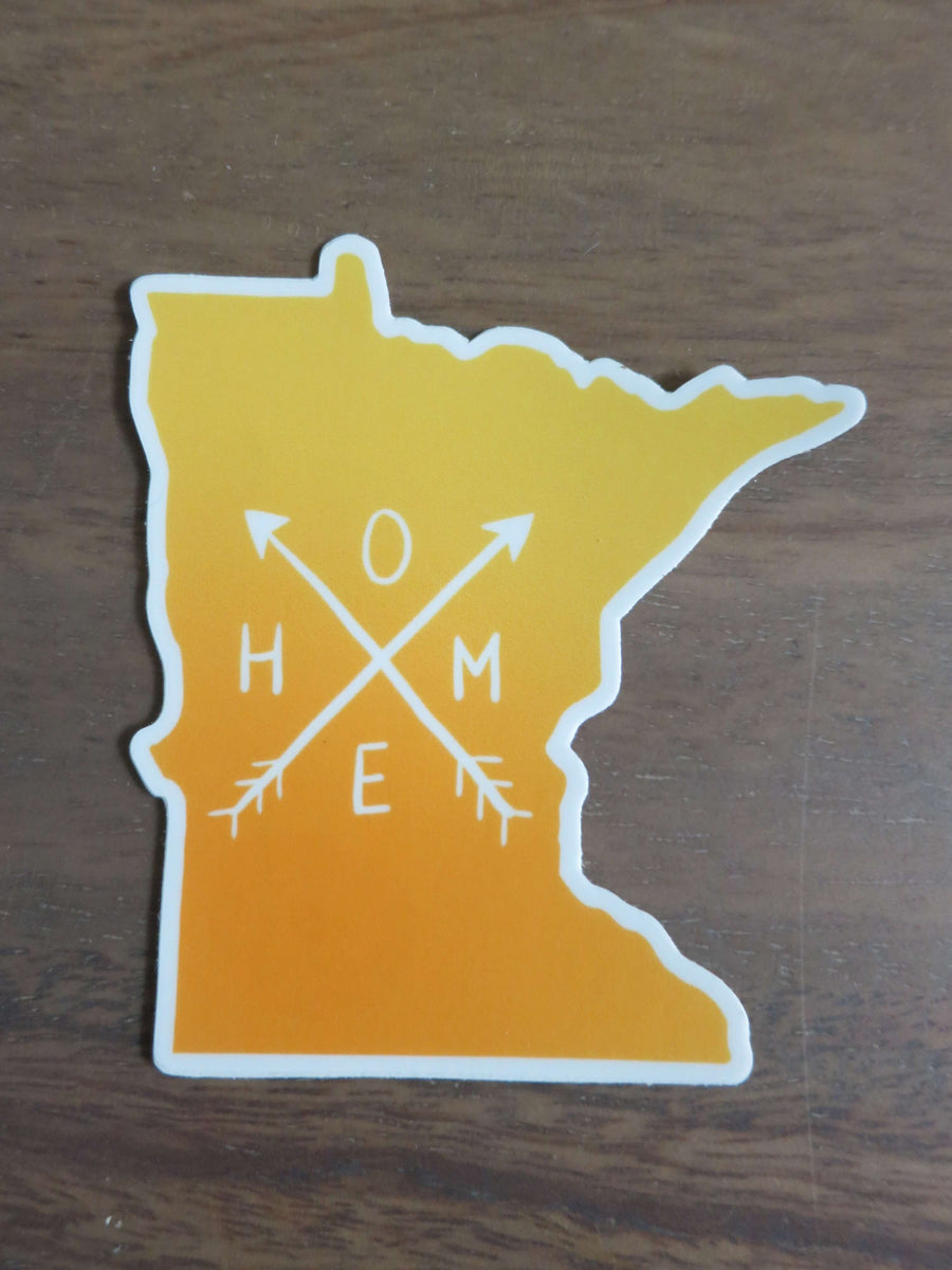 Minnesota Home-Stickers-Spread Your Sparkle