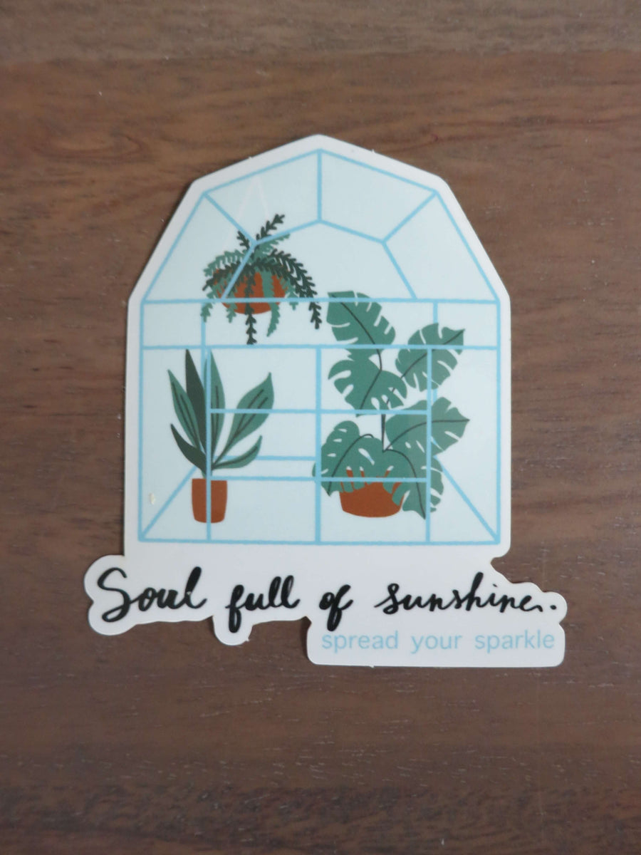 Soul Full of Sunshine-Stickers-Spread Your Sparkle
