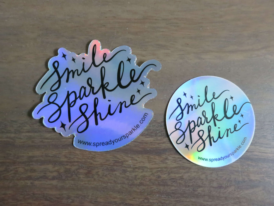 Smile, Sparkle, Shine-Stickers-Spread Your Sparkle
