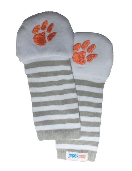 Handsocks No Scratch Baby and Kid Mittens, Clemson