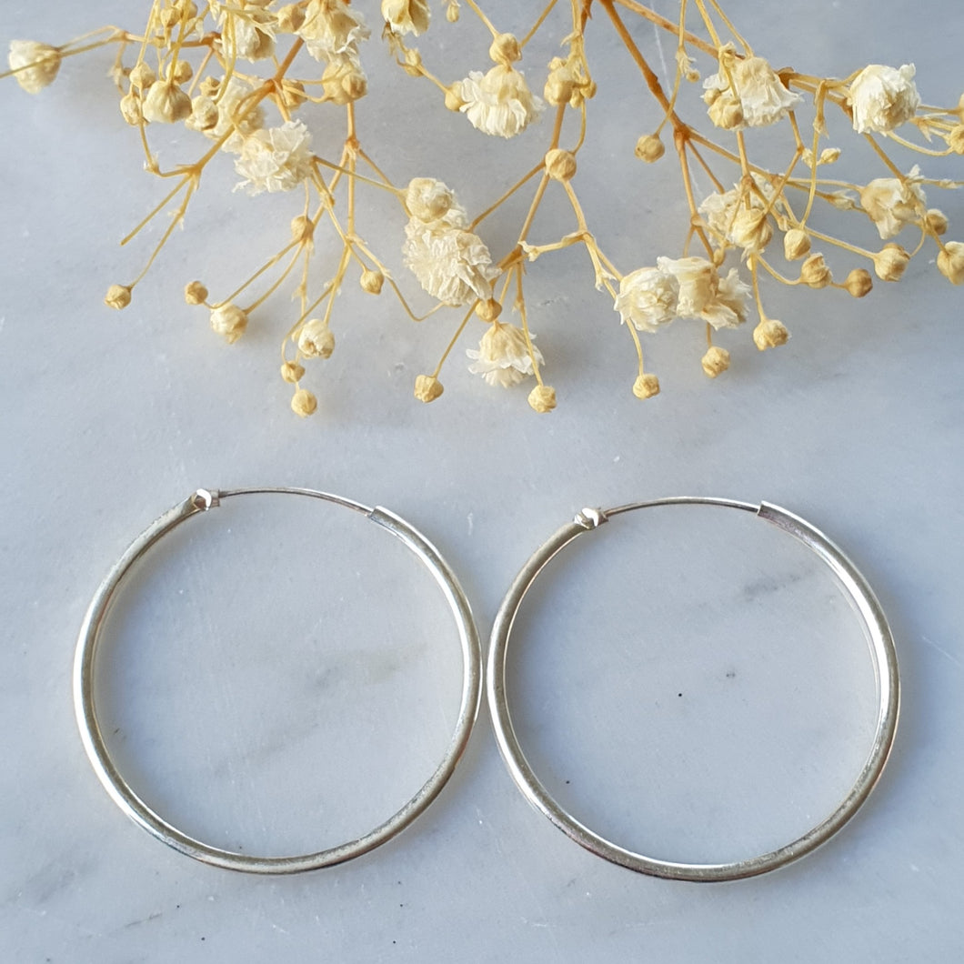 Argolla 3.5/ Hoop Earrings 3.5