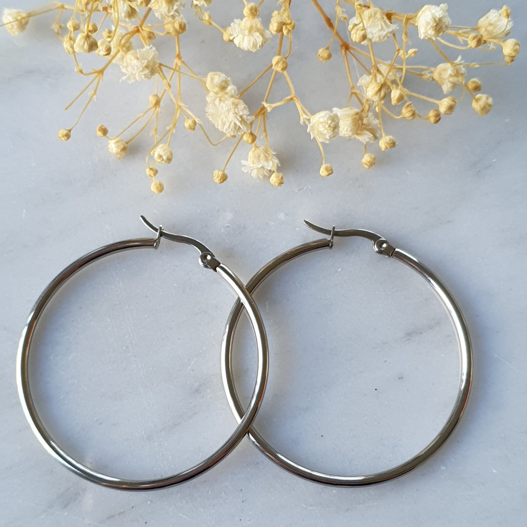 Argolla 4.5/ Hoop Earrings 4.5