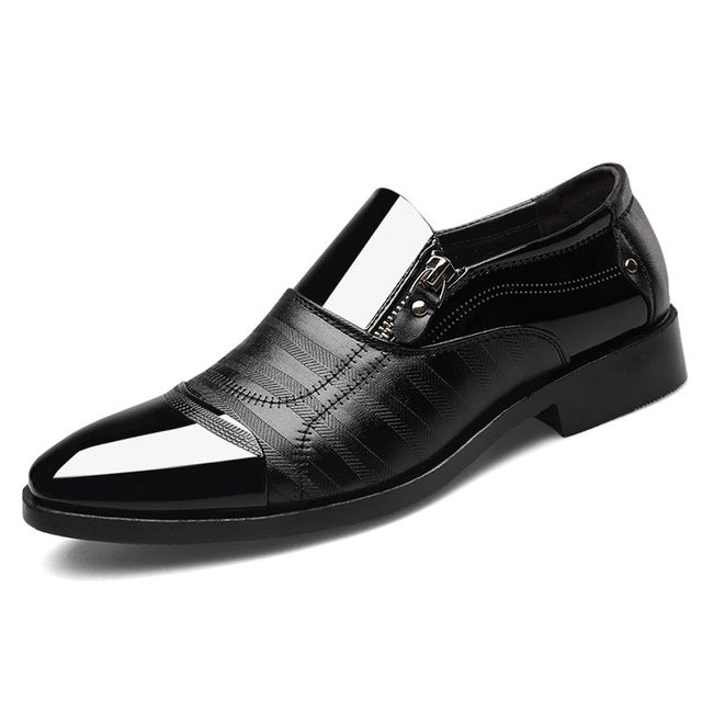 Men's Dress Shoes Fashion Elegant Formal - LUNEUL