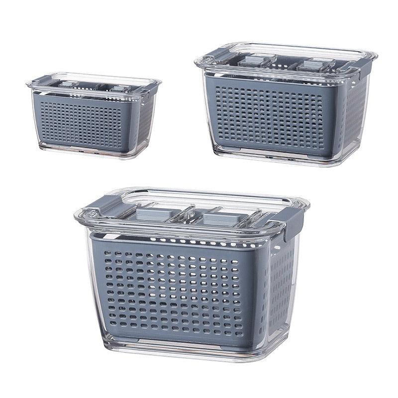Fresh Produce Vegetable Fruit Storage Containers - LUNEUL