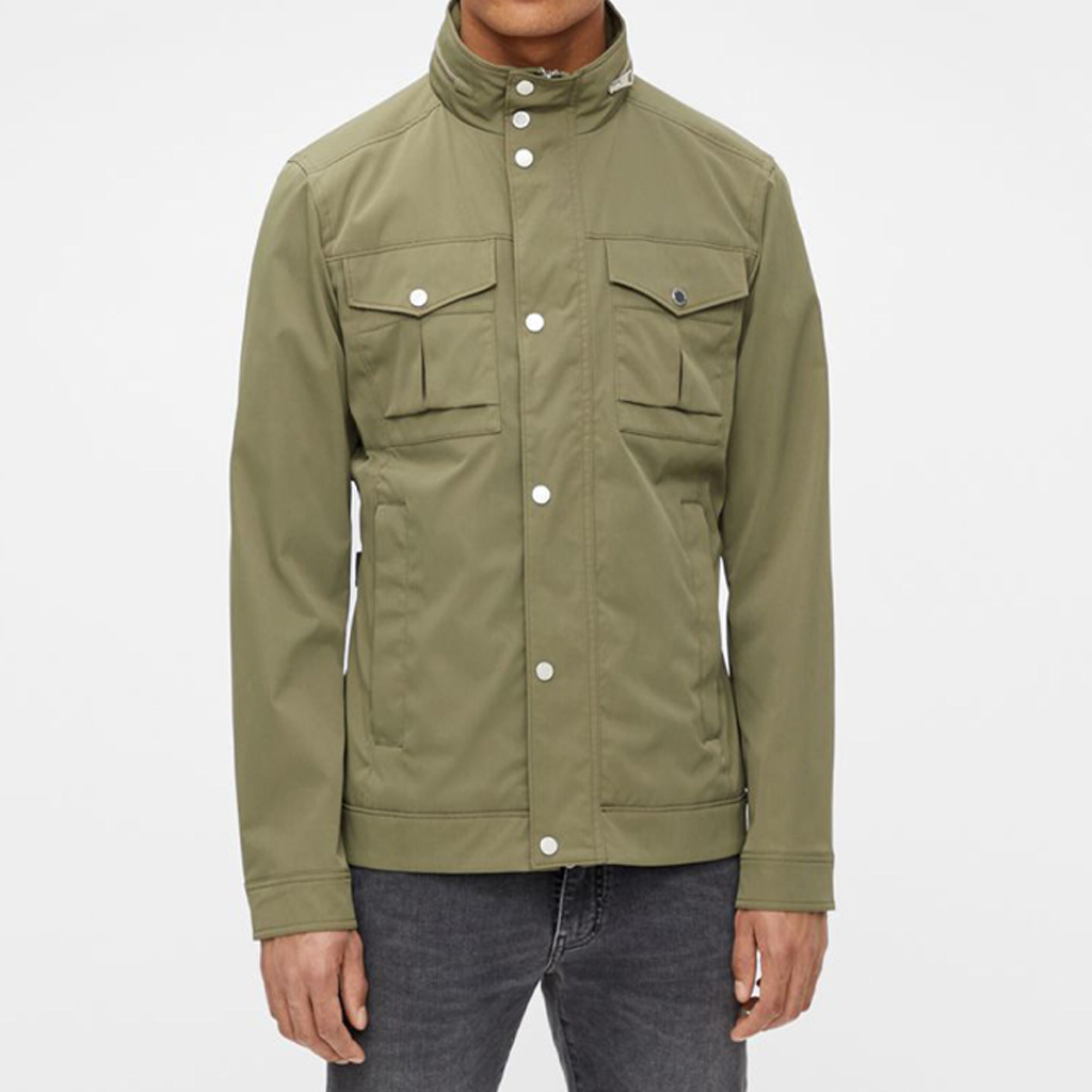 BAILEY POLY STRETCH JACKET LAKE GREEN