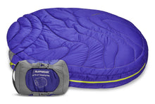 Load image into Gallery viewer, Ruffwear Highlands Backpacking Sleeping Bag Huckleberry Blue