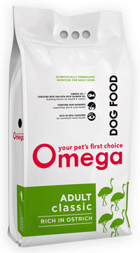 Omega Pet Foods Adult Classic Rich in Ostrich