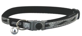 ROGZ NightCat Reflective Safeloc Breakaway Cat Collar 11mm Small
