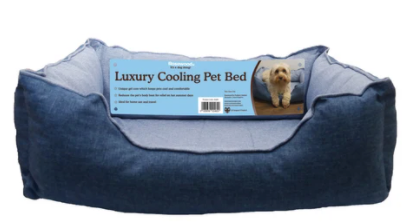 Luxury Cooling Pet Bed
