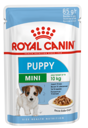 ROYAL CANIN Mini Puppy Wet Food Pouches