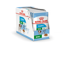 Load image into Gallery viewer, ROYAL CANIN Mini Puppy Wet Food Pouches