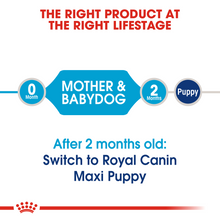 Load image into Gallery viewer, ROYAL CANIN Maxi Starter Mother & Babydog Food