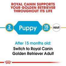 Load image into Gallery viewer, ROYAL CANIN Golden Retriever Puppy Dog Food