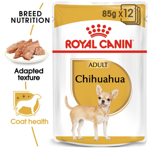 ROYAL CANIN Chihuahua Adult Wet Dog Food Pouches