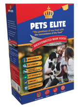 Load image into Gallery viewer, Pets Elite Dehydrated Raw Food
