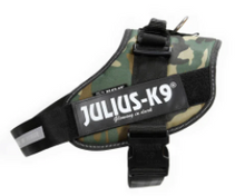 Load image into Gallery viewer, Julius K-9 Black Harness