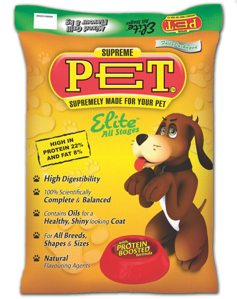 Supreme Pet Dogfood Elite Mixed Grill