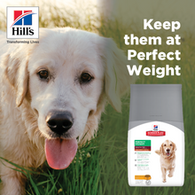Load image into Gallery viewer, HILL'S SCIENCE PLAN Adult Perfect Weight Large Breed Dry Dog Food Chicken Flavour