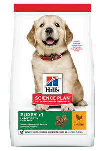 HILL'S SCIENCE PLAN Puppy Large Breed Dry Dog Food Chicken Flavour
