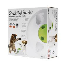 Snack Puzzler L'CHIC Feeder & Toy for Pets