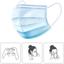 Load image into Gallery viewer, 3ply face mask - PACK OF 10