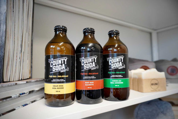 County Soda - Assorted Flavors