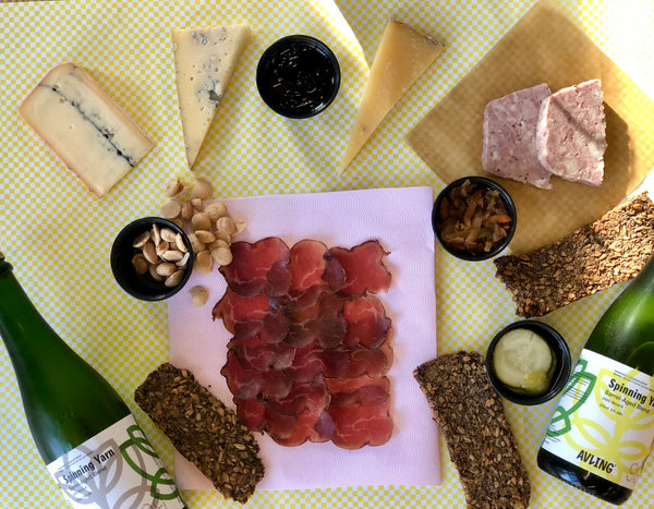 Avling Charcuterie and Cheese Box