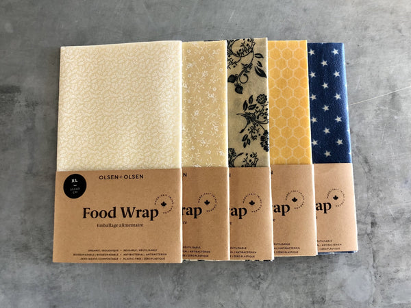 Olsen + Olsen Reusable Food Wrap
