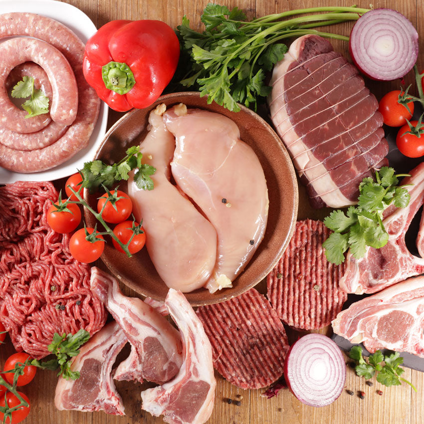 Meat Selection (Various Sizes)