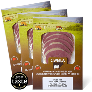 WELSH BEEF – 3 FLAVOURS