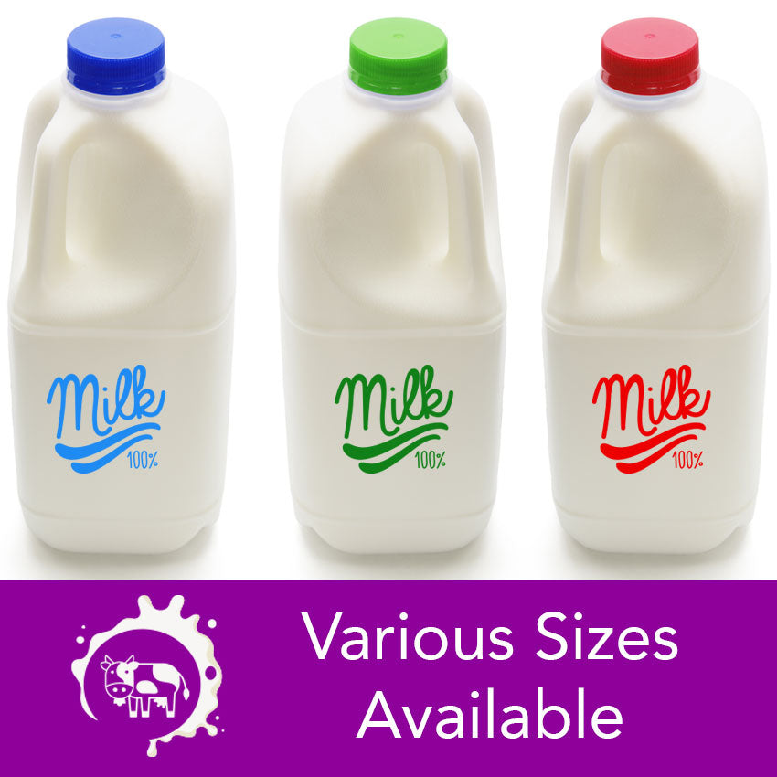 Milk (Dairy)  - Various Sizes