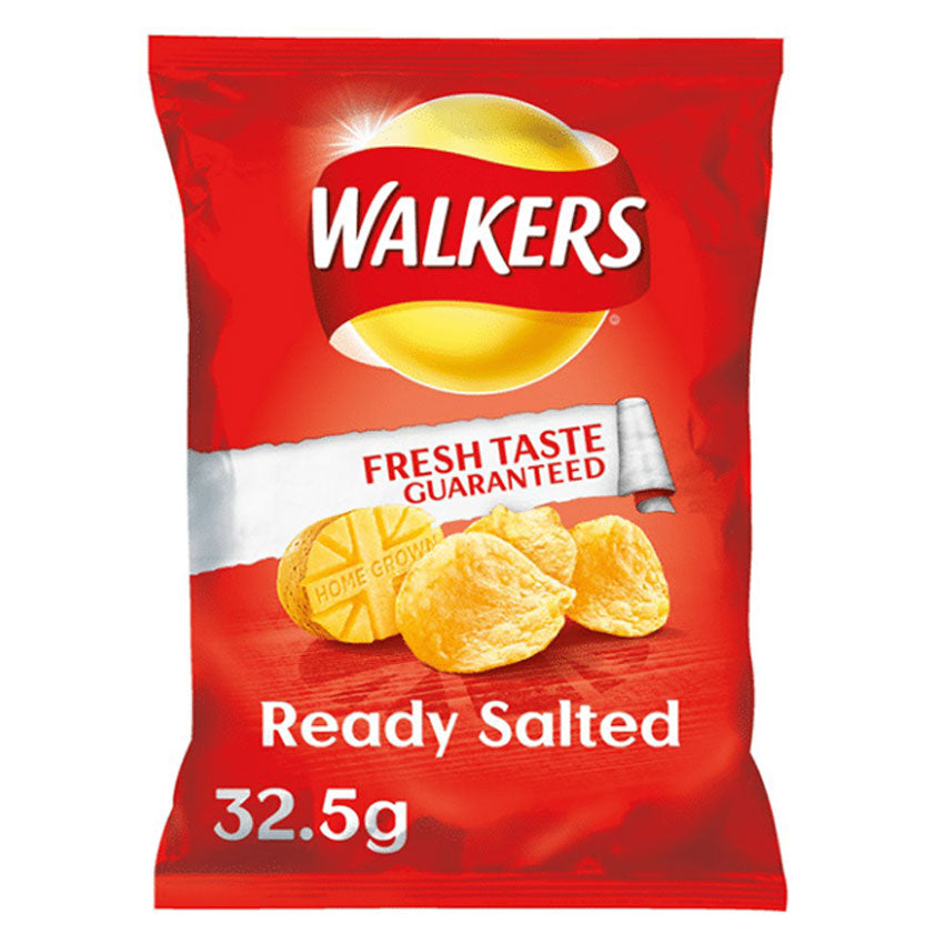Walkers Ready Salted Crisps Packet
