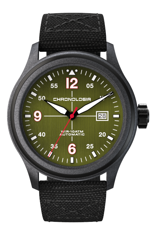 Chronologia Pilot Army Green