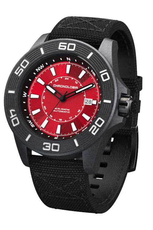 Chronologia Trekker Matte Red