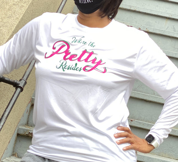 Where the Pretty Resides Crew neck- cool fit