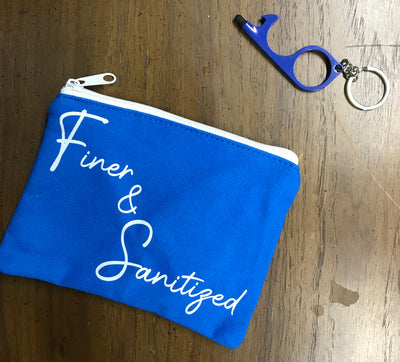 Finer & Sanitized Pouch set